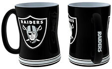 Oakland Raiders Coffee Mug - 14oz Sculpted [NEW] Tea Warm Microwave Cup CDG