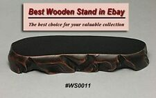 Wood Stand For Figurine, Netsuke Carving Display WS0011