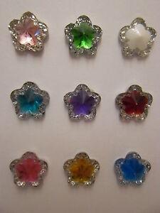 "Star & Glittery Diamond Tie Pin  ""Colour Option"""