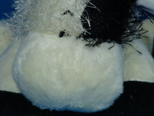 WEBKINZ PLUSH ONLY NO SECRET CODE FREE SHIPPING BLACK WHITE TOWEL STUFFED ANIMAL