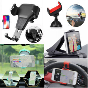 New Universal Mobile Smart Phone Gravity Car Air Vent Mount Cradle Holder Stand