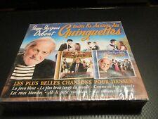 """COFFRET 2 CD NEUF """"JEAN-JACQUES DEBOUT - TOUTES LES CHANSONS DES GUINGUETTES"""""""