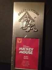"Dog Gone Proud Disney Frame 2"" x 3"" New Un-Used Rare Stainless silver tone!"