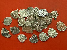 One Fractional Crusader Silver Coin Randomly Picked Templar Cross 800 yrs old