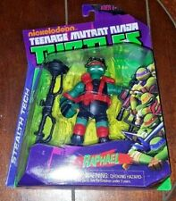 New Nickelodeon TMNT: Stealth Tech RAPHAEL Action Figure!