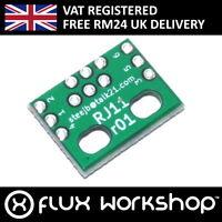 RJ-11 to 6pin 2.54mm Connector Adapter Module Breakout Prototype Flux Workshop