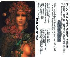 Alberto Belasco Psyche Collectible Phone card