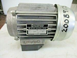 ELETTROMECCANICA Motore 0.25HP 280/480 T63bn/4