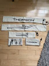 Thomson handlebar, stem, seatpost bags