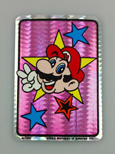 1990 VINTAGE NINTENDO SUPER MARIO BROS VIDEO GAME PRISM VENDING STICKER No 9