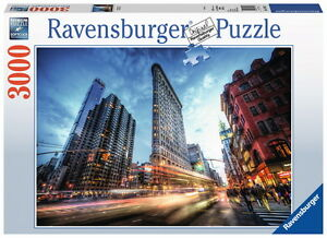 3000 Teile Ravensburger Puzzle Flat Iron Building 17075