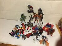 Transformers Mixed Lot 25 pieces Modern and vintage Used good condition