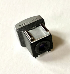 Canon 19mm Viewfinder with 19mm Lens Case
