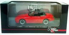 PORSCHE 944 S2 CABRIOLET 1989 HIGHSPEED 1/43 ROADSTER ROT RED ROUGE ROSSO