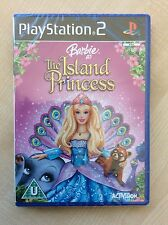 BARBIE L'ISOLA prezzi PS2 PAL UK INGLESE COMPLETO PLAYSTATION NUOVI / SIGILLATI