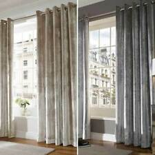 Velvet Striped Contemporary Curtains & Pelmets