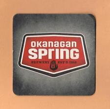 Okanagan Spring Brewery Beer Mat Coaster Vernon BC Canada Pale Ale 1516 Porter