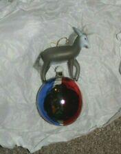 Huge Democrat Donkey Red Silver Blue Ball glass ornament Vote democrat Biden