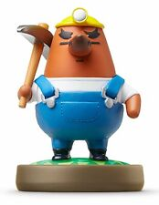 Mr Resetti (Risetto-san) Amiibo Nintendo Animal Crossing Japanese Version Import