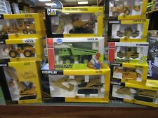 JOAL CAT CONSTRUCTION VEHICLES 1/50 SCALE 11 ASSORTED PCS NIB