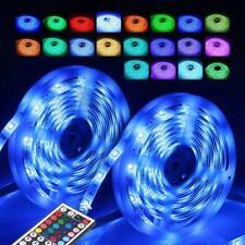 LED Lichterkette 10M Stripe RGB Leiste Streifen 5050 Band IP65 Wasserdicht