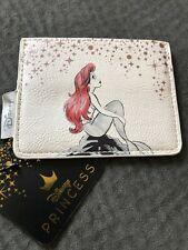 Loungefly Disney The Little Mermaid Ariel on Rocks Cardholder Id Slim Wallet
