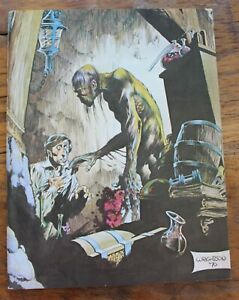 """Early 1970s """"Collage"""" Fanzine; Wrightson Cover"""