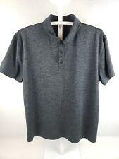 EUC Alfani Slim Fit Performance Men's Polo Shirt XL Gray Golf Style Clothing