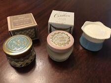 Vintage Avon Cotillion Perfume Jar & Here's My Heart Cream Sachet 2 w/Box