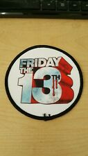 FRIDAY THE 13TH LOGO PATCH