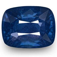 Cushion Natural Blue Loose Sapphires