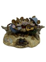 """WEE FOREST FOLK """"A WEE FOLK SONG"""".  M-297 ~CAMPFIRE Mice"""