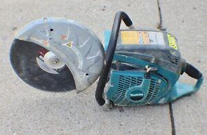 "Makita Gas 14"" Handheld Concrete Cut-off Saw"