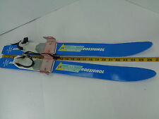 "Rossignol JR Skis Ski LTS Series AR Age 2-4 Childrens Germany 70 27"" Beginner"