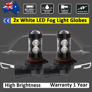For Toyota MR2 2001-2005 Fog Light Globes LED Bulbs 8000lm White Spot lamp 2pcs