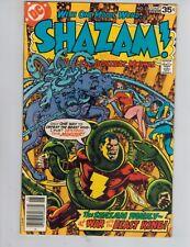 SHAZAM! 35 Captain Marvel vs King Kull!  SABBAC! 1978 VF FINAL ISSUE!