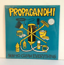 PROPAGANDHI how to clean everything LP Vinyl Record SEALED / NEW , weakerthans