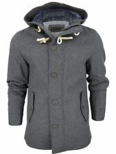 Hooded Wool Parkas for Men