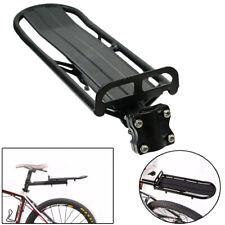 portapacco posteriore universale in alluminio nero M-Wave bicicletta