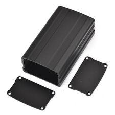Aluminum Box Enclousure Case Project electronic for PCB DIY Black 110*63.5*38MM