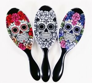 Wet Brush Skull Rose Edition Purple, Red & White * Fast Ship By USPS 1st Class *