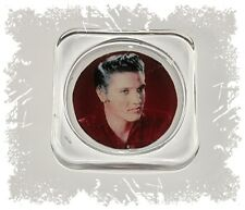 Elvis Presley, Square Glass Coaster Gift, Limited Edition | Cellini Plaques #1