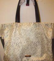 Zac Zac Posen Eartha Large Shoulder Shopper Tote Bag, Black / White NEW!!