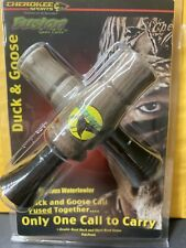 Cherokee Sports Fusion Duck & Goose Call fused together New