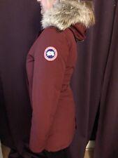 Details zu CANADA GOOSE Montebello Daunen Parka S M L Schwarz WINTER Jacke Mantel Black Fur