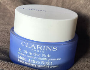 CLARINS Multi-Active Nuit Normal/Combination Skin 1.6oz NEW SEALED