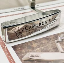Cameron & Co Scotty Cameron Brand New HC&COA Included Sterling Silver Insert