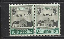 SOUTHWEST AFRICA (MANDATE TO SO AFR) - B1 - B2 - MNH - 1935-36 - SWA O/P