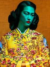 """Miss Wong por Tretchikoff A4 Brillante Retro Kitsch Foto Impresión Nuevo 11.75"""" X 8.25"""""""