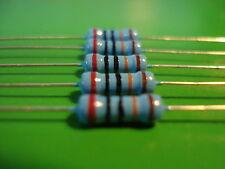Resistor (5) 1/2W 200K ohm 1% METAL  FILM RESISTOR Free Shipping Canada